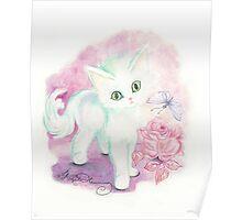 The Little Angel Kitten  Poster