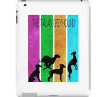 Italian Greyhound simplistic iPad Case/Skin