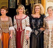 Four ladies by Željko Malagurski