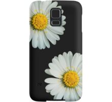 Two white daisies Samsung Galaxy Case/Skin