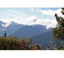 """Mount Deception"" Olympic National Park, Washington Photographic Print"