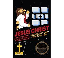 Jesus Christ NES 8bit Photographic Print