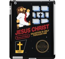 Jesus Christ NES 8bit iPad Case/Skin