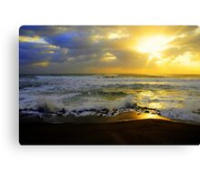 Hungry Land Sun Rise Canvas Print