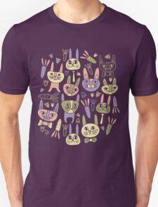 Funny Bunnies Violet T-Shirt