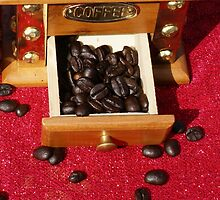 Coffee Beans by Christine King