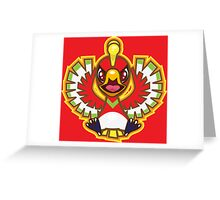 Ho-Oh Greeting Card
