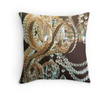 Bohemian Chandelier Throw Pillow