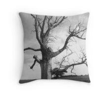 deadwood tree  Throw Pillow