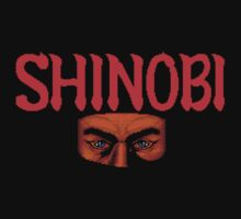 Shinobi (Arcade) Title Screen Shirt by AvalancheShirts