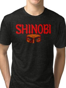 Shinobi (Arcade) Title Screen Shirt Tri-blend T-Shirt