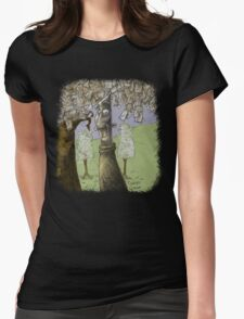 'The Envelope Grower' Womens Fitted T-Shirt