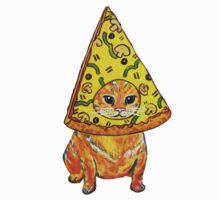 pizza gato by christinel