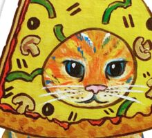 pizza gato Sticker