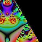 Sierpinski triangle 20150130-001 by Rupert  Russell