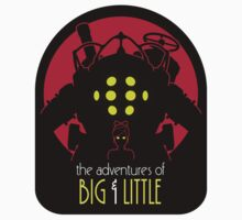 The Adventures of Big & Little (Sticker) by DrRoger