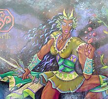green goddess Ivy by Kamara j2007