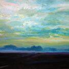 Foggy Field by Cameron Hampton