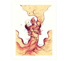 the highest genie Art Print