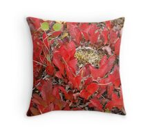 Dwarf Blueberry Throw Pillow