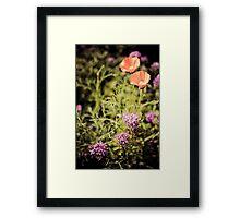 flowery sickle Framed Print
