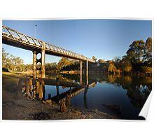 Murray River at Corowa Poster