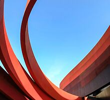 Exterior of the Design Museum Holon, Israel  by PhotoStock-Isra