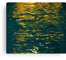 And The Spirit of God Moved Upon the Face of the Waters. Canvas Print