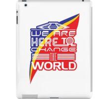 Captain EO - Change the World iPad Case/Skin