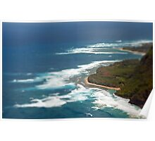 Hawaii from above2 Poster