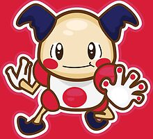 Mr. Mime by Skull And Cubone Society