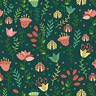 Floral pattern by JuliaBadeeva