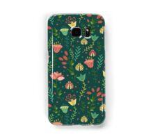 Floral pattern Samsung Galaxy Case/Skin