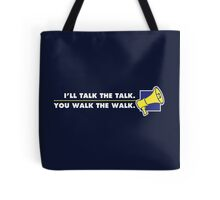 Talk The Talk - Official Mouthpiece Design Tote Bag