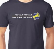 Talk The Talk - Official Mouthpiece Design Unisex T-Shirt