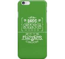 Enchanted Tiki Room - Sing Along iPhone Case/Skin