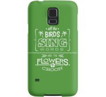 Enchanted Tiki Room - Sing Along Samsung Galaxy Case/Skin