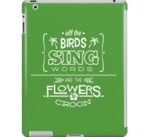 Enchanted Tiki Room - Sing Along iPad Case/Skin