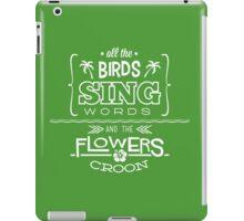 Enchanted Tiki Room - Sing Along iPad Case/Skin