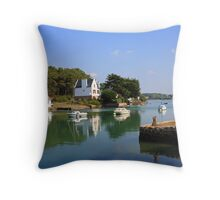 www.lizgarnett.com - Golfe du Morbihan Throw Pillow