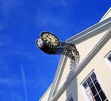www.lizgarnett.com - Hythe Clock by Liz Garnett