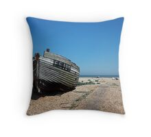 www.lizgarnett.com - Dungeness Fishing Boat Throw Pillow