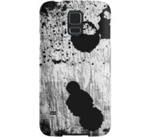 Black and white abstract Samsung Galaxy Case/Skin