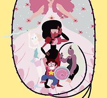 The Crystal Gems  by XxmorwullxX