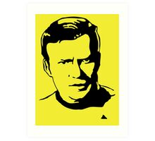 William Shatner Star Trek Art Print