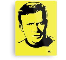 William Shatner Star Trek Metal Print