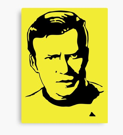 William Shatner Star Trek Canvas Print