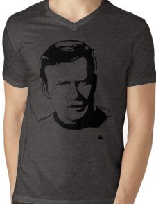William Shatner Star Trek Mens V-Neck T-Shirt