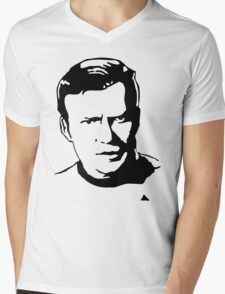William Shatner Star Trek Mens V-Neck T-Shirt
