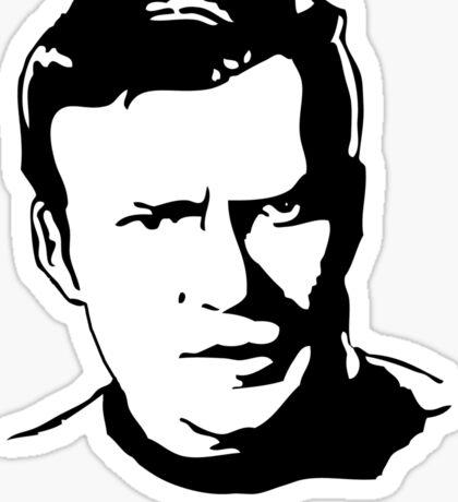 William Shatner Star Trek Sticker